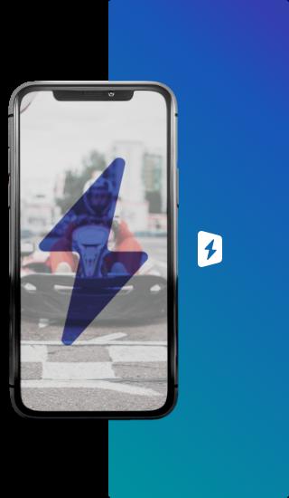 Logo do OffStation no celular